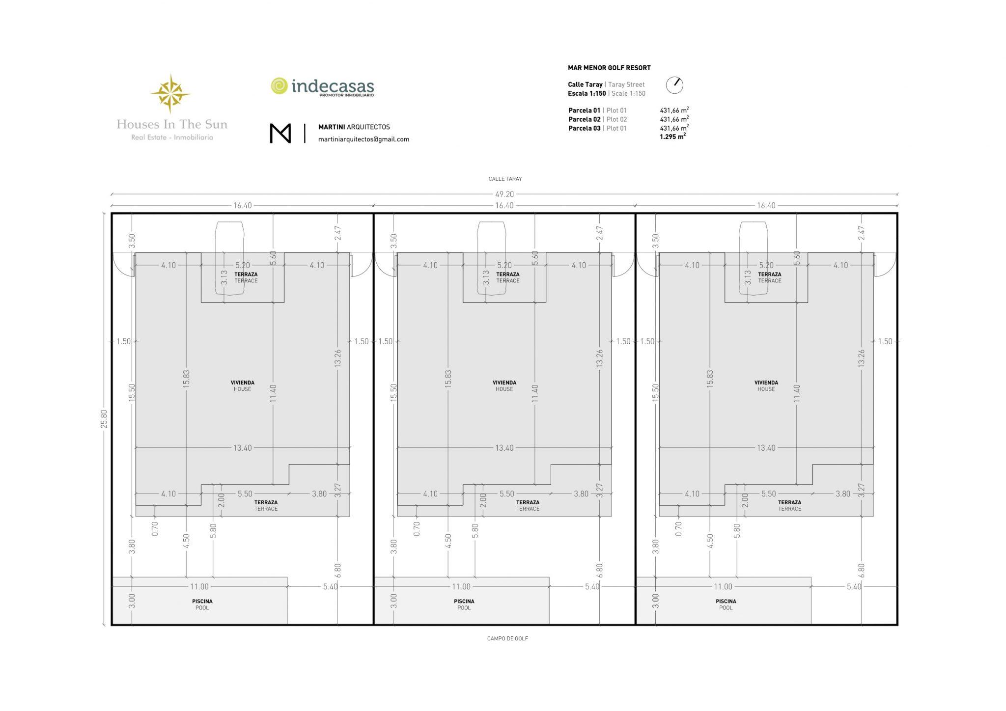 Plano las 3 vivendas con logos